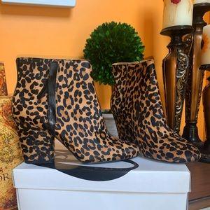 Nine West Leopard Print Boots